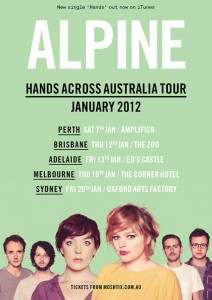 Hands Across Australia Tour