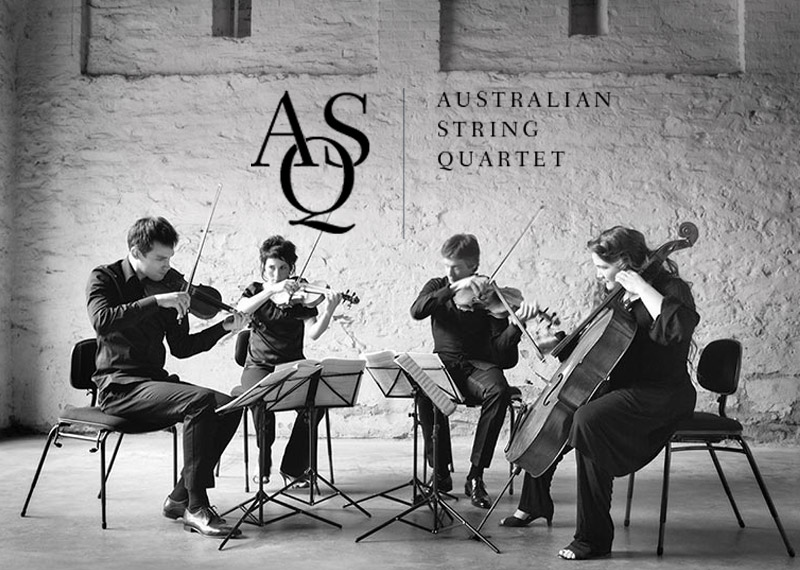Australian String Quartet perform Amy Bastow's composiiton for the National Composers' Forum