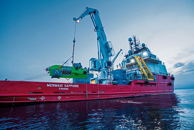 Mermaid Sapphire Launch Ship