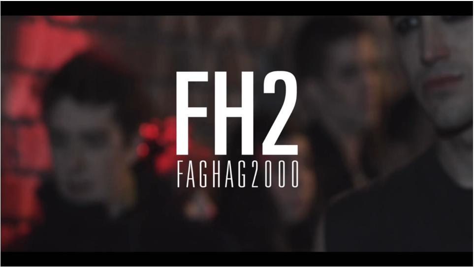FagHag Title Card