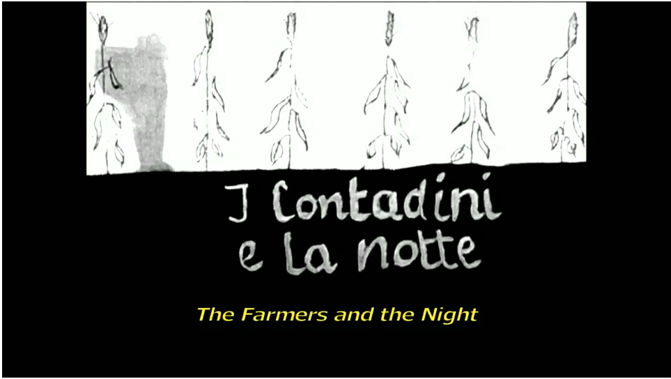 The Farmers and the Night Title Card