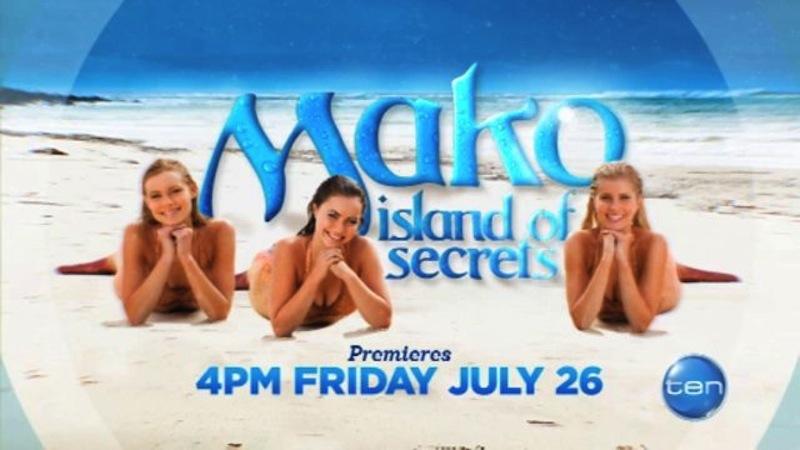 Mako Mermaids Screens on Network 10