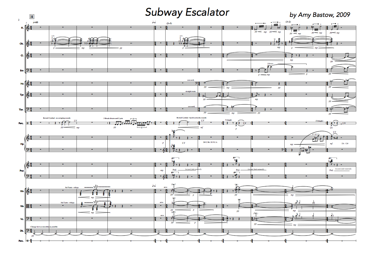 Subway Escalator p1