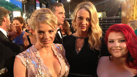 On the Red Carpet at the Logie Awards 2014